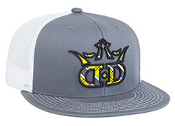 4D3 D-Series Trucker Mesh Snapback Adjustable Hat