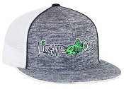 4D6 Aggressive Heather Trucker Mesh Universal Fitted Hat