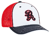 Custom Trucker Mesh Custom Hats - U-Shape Bill