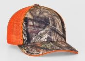 694M Universal Fitted Camo Trucker Mesh Hat